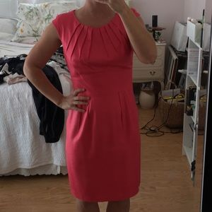 Trina Turk knee length hot pink dress